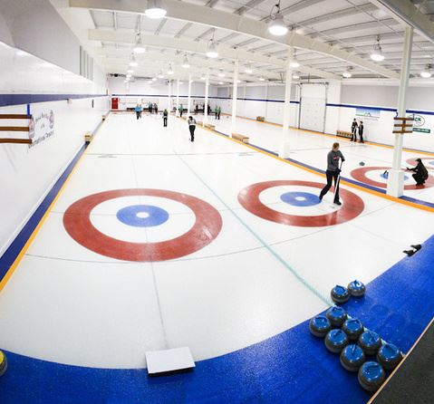CLSA Curling Rink Ron Sombilon