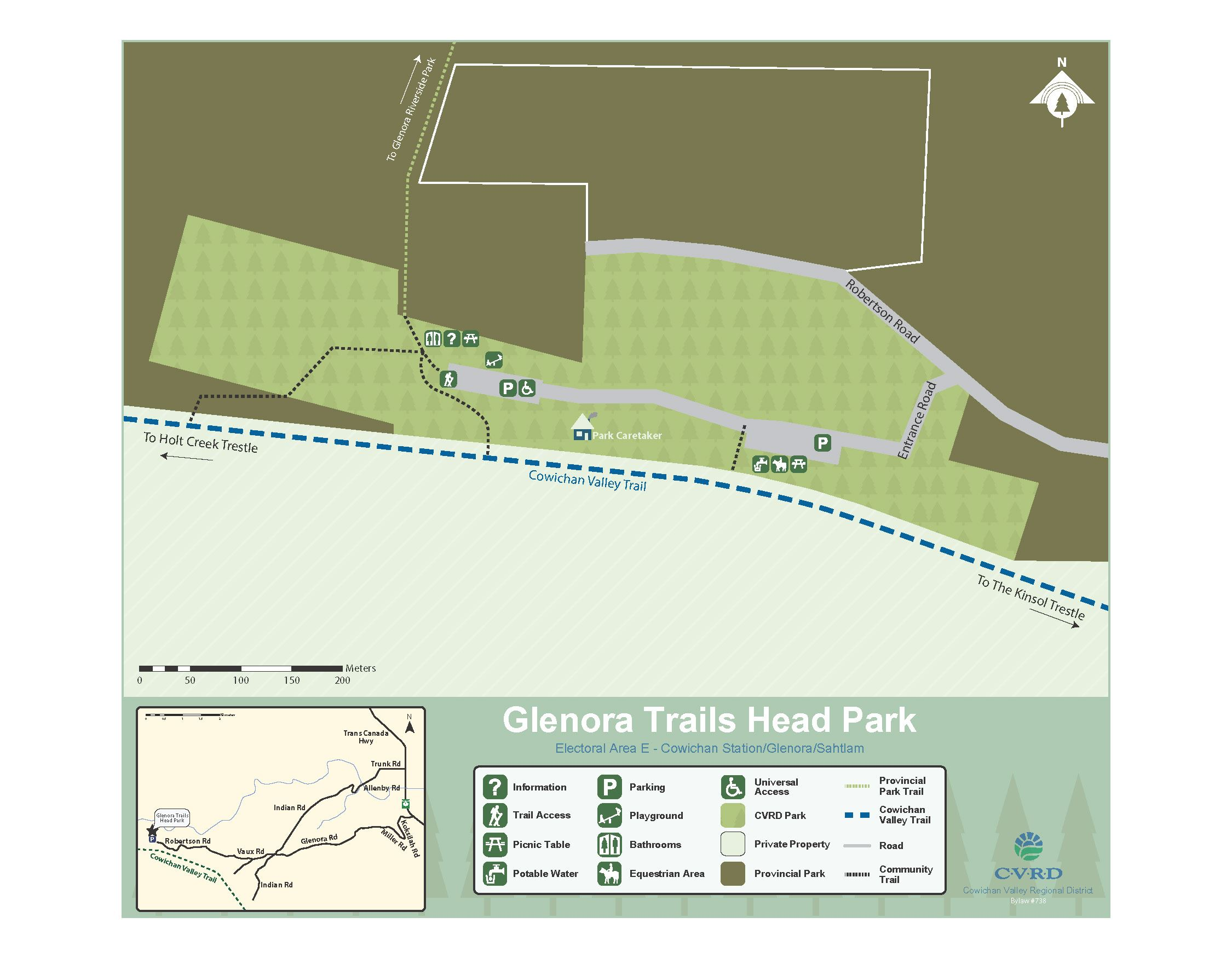 Glenora Trails Heads Park Map 2016