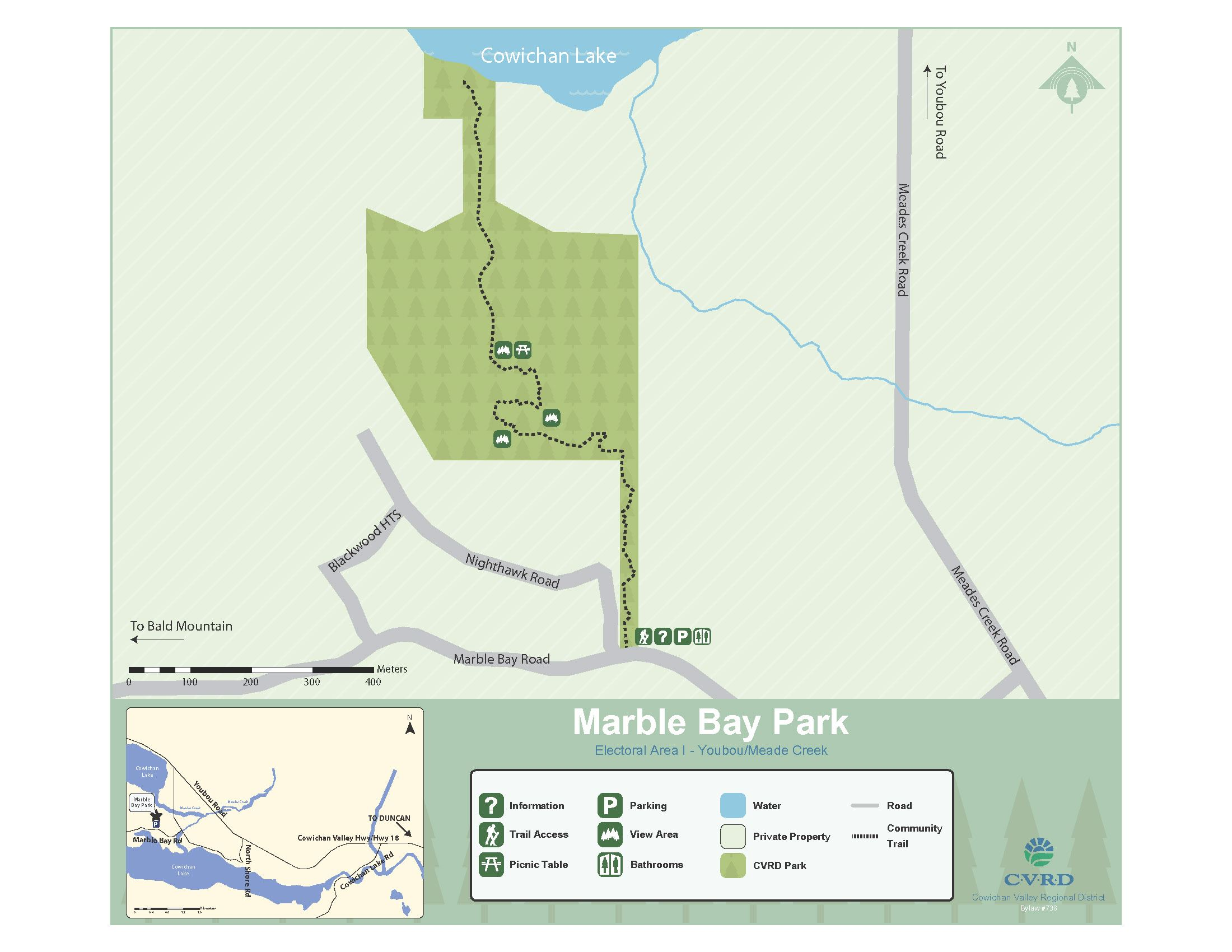 Marble Bay Park Map