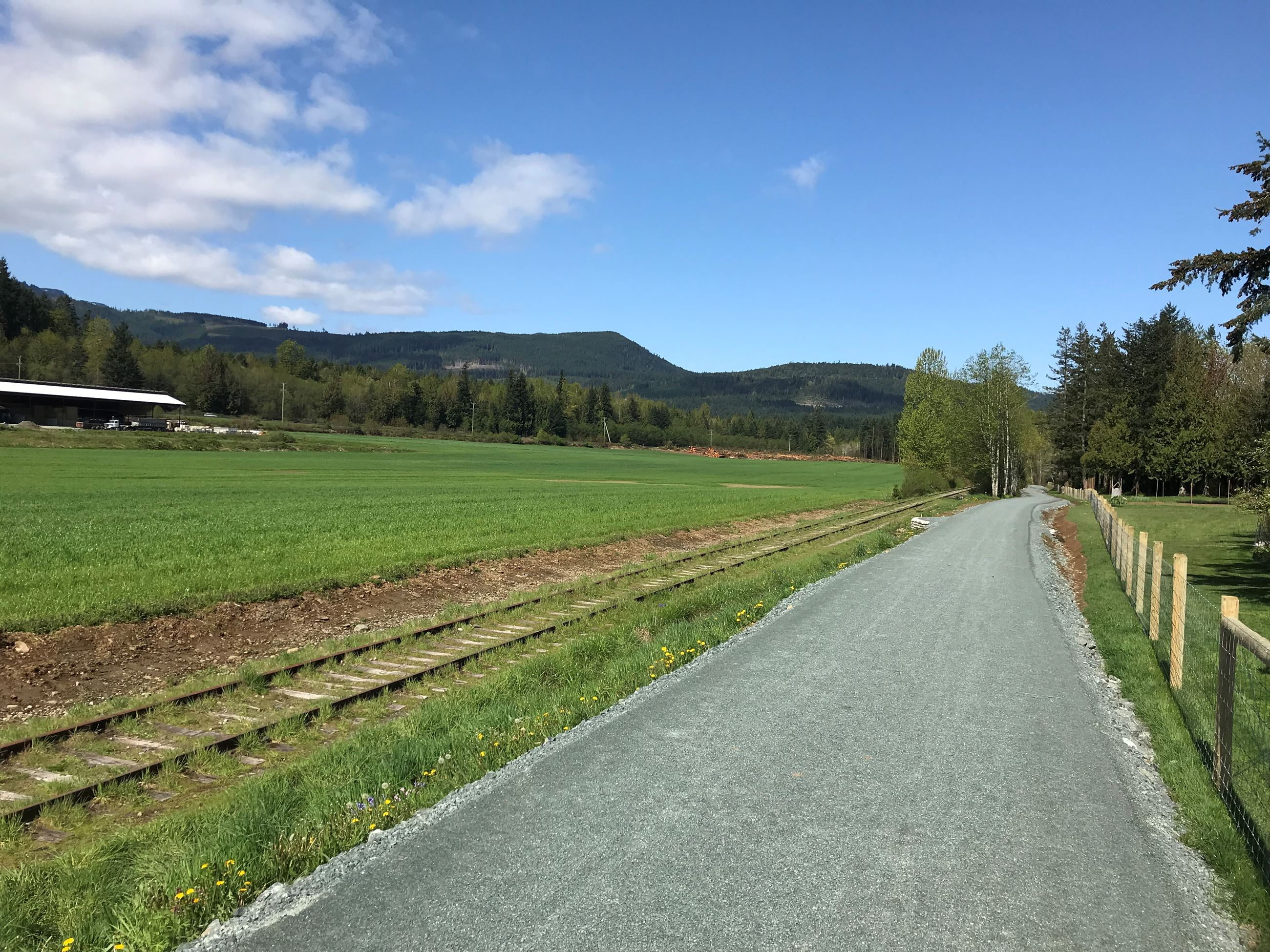 Cowichan Valley Trail Saltair