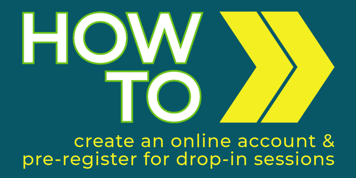 creating online account and pre register